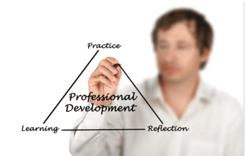 What is distributed professional development