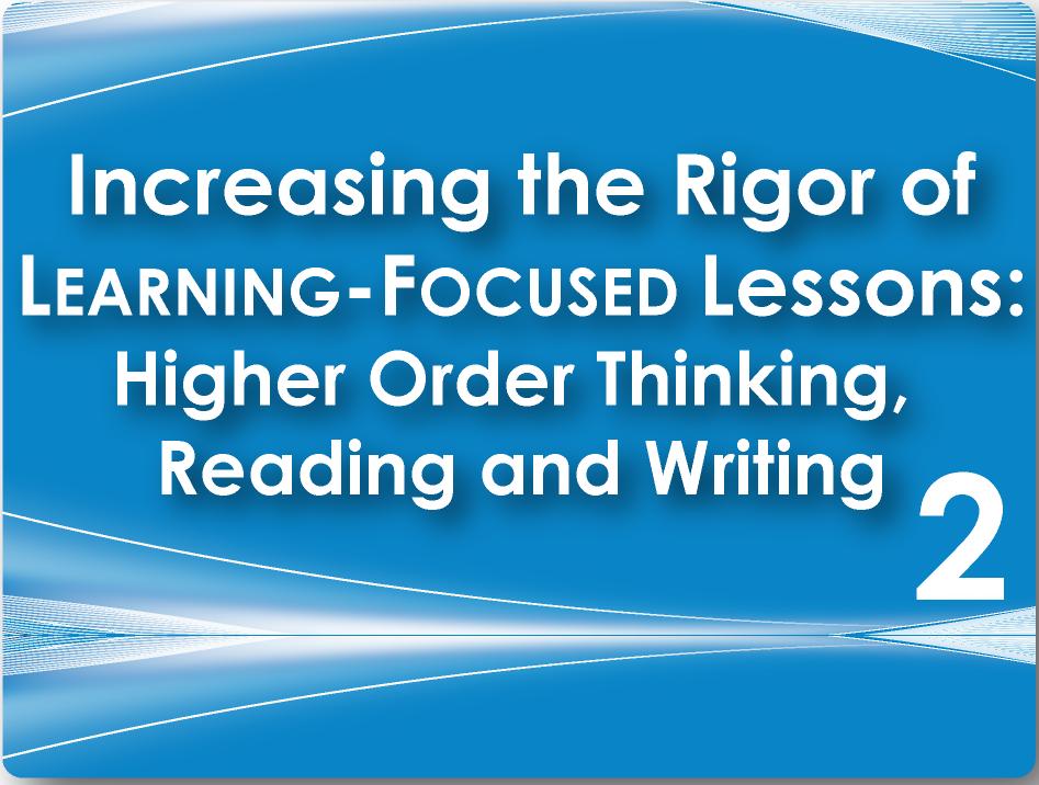 framework to increase rigor